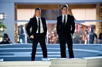 THIS MEANS WAR, from left: Tom Hardy, Chris Pine, 2012. ph: Kimberley French/TM and ©copyright Twentieth Century Fox Film Corporation. All rights reserved.