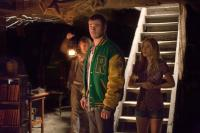 THE CABIN IN THE WOODS, from left: Fran Kranz, Chris Hemsworth, Anna Hutchison, 2012. ph: Diyah Pera/©Lionsgate