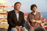 TO ROME WITH LOVE, from left: Alec Baldwin, Jesse Eisenberg, 2012. ph: Philippe Antonello/©Sony Pictures Classics