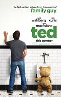 TED, advance poster art, from left: Mark Wahlberg, Ted (voice: Seth MacFarlane), 2012. ©Universal Pictures