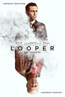 LOOPER, US advance poster art, from top: Joseph Gordon-Levitt, Bruce Willis, 2012. ©TriStar Pictures