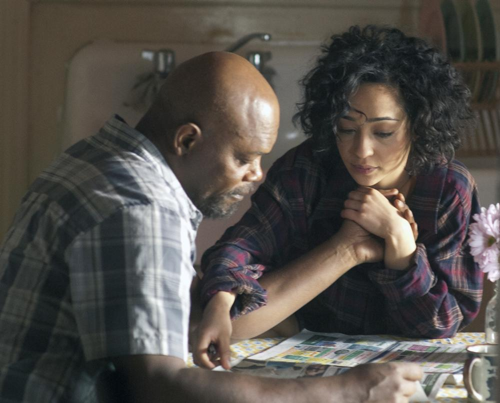 Ruth Negga and samuel l jackson