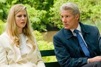 ARBITRAGE, from left: Brit Marling, Richard Gere, 2012. ph: Myles Aronowitz/©Roadside Attractions