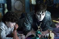 DARK SHADOWS, from left: Gully McGrath, Johnny Depp, 2012. ph: Peter Mountain/©Warner Bros.