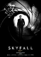 SKYFALL, US advance poster art, Daniel Craig as James Bond, 2012./©Columbia Pictures
