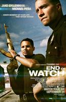 END OF WATCH, US poster art, from left: Michael Pena, Jake Gyllenhaal, 2012. ph: Scott Garfield/©Open Road Films