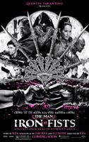 THE MAN WITH THE IRON FISTS, US poster art, Jamie Chung (bottom left), Rick Yune (left, second from bottom), Russell Crowe (left of center), RZA (top), Lucy Liu (top right), Dave Bautista (right, tattoos), 2012. ©Universal Pictures
