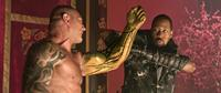 THE MAN WITH THE IRON FISTS, from left: Dave Bautista, RZA, 2012. ©Universal Pictures