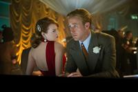 GANGSTER SQUAD, from left: Emma Stone, Ryan Gosling, 2012. ph: Wilson Webb/©Warner Bros. Pictures