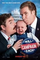 THE CAMPAIGN, from left: Zach Galifianakis, Will Ferrell, 2012. ©Warner Bros. Pictures
