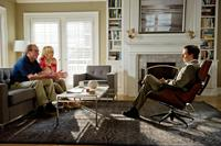 HOPE SPRINGS, from left: Tommy Lee Jones, Meryl Streep, Steve Carell, 2012. Ph: Barry Wetcher/©Columbia Pictures