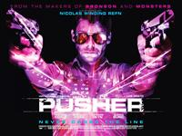 PUSHER, British poster art, Richard Coyle, 2012. ©RADiUS-TWC