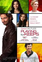 PLAYING FOR KEEPS, (aka PLAYING THE FIELD), top l-r: Jessica Biel, Uma Thurman, center l-r: Gerard Butler, Catherine Zeta-Jones, bottom: Dennis Quaid on US poster art, 2012, ©FilmDistrict