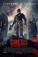 DREDD 3D, Karl Urban on US poster art, 2012, ©Lionsgate
