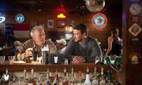 TROUBLE WITH THE CURVE, from left: Clint Eastwood, Justin Timberlake, 2012. ph: Keith Bernstein/©Warner Bros.