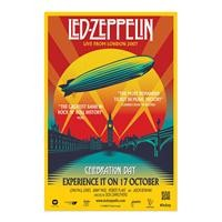 Led Zeppelin Celebration Day One Sheet