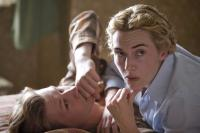 "David Kross and Kate Winslet in ""The Reader"""