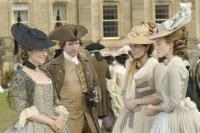 "Charlotte Rampling, Ralph Fiennes, Hayley Atwell and Keira Knightley in ""The Duchess"""