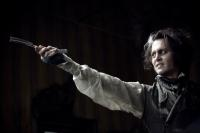 "Johnny Depp in ""Sweeney Todd: The Demon Barber of Fleet Street"""