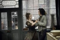 "Helena Bonham Carter and Johnny Depp in ""Sweeney Todd: The Demon Barber of Fleet Street"""