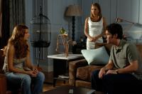 "Lake Bell, Eva Longoria and Paul Rudd in ""Over Her Dead Body"""