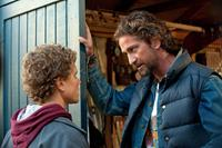 CHASING MAVERICKS, from left: Jonny Weston, Gerard Butler, 2012. ph: John P. Johnson/TM and ©Twentieth Century Fox Films. All rights reserved.