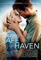 SAFE HAVEN, l-r: Julianne Hough, Josh Duhamel on US poster art, 2013, ©Relativity Media