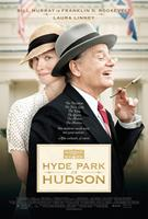 HYDE PARK ON HUDSON, US poster art, from left: Laura Linney, Bill Murray, as Franklin D. Roosevelt, 2012. ©Focus Features