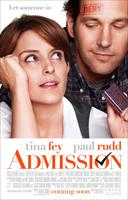 ADMISSION, US poster art, from left: Tina Fey, Paul Rudd, 2013. ©Universal Pictures