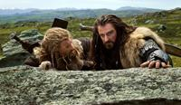 THE HOBBIT: AN UNEXPECTED JOURNEY, from left: Dean O'Gorman, Richard Armitage, 2012. ph: Mark Pokorny/©Warner Bros. Pictures