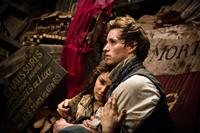 LES MISERABLES, from left: Samantha Barks, Eddie Redmayne, 2012./©Universal Pictures