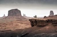 THE LONE RANGER, l-r: Johnny Depp, Armie Hammer, 2013, ph: Peter Mountain/©Walt Disney Pictures