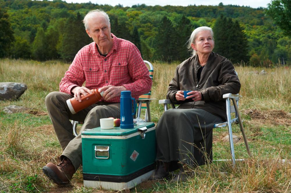 STILL, from left: James Cromwell, Genevieve Bujold, 2012. ©Samuel Goldwyn Films