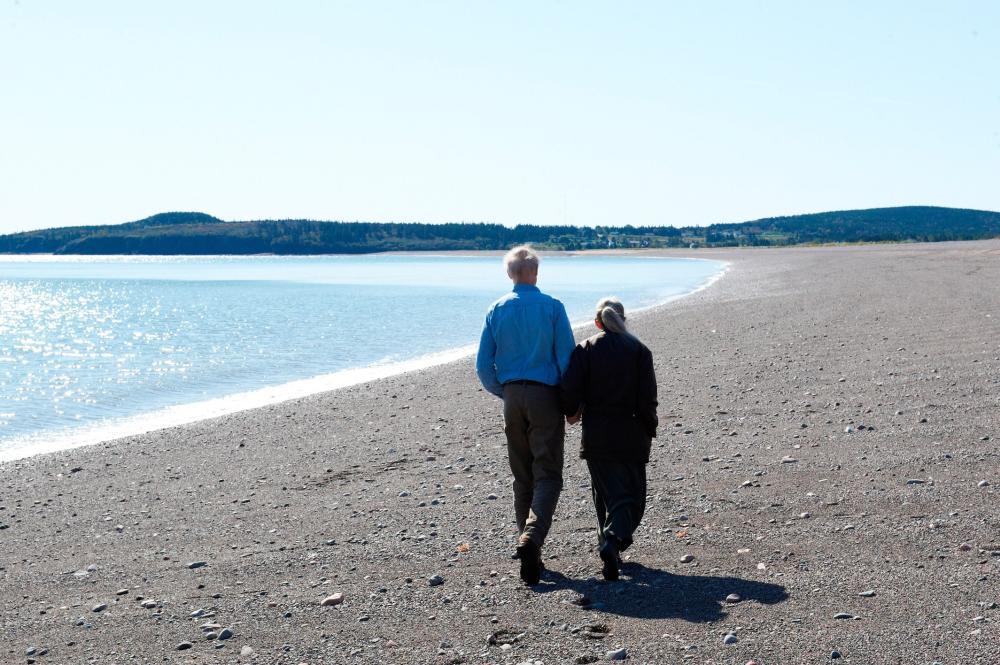 STILL, from left: James Cromwell, Genevieve Bujold, 2012, ©Samuel Goldwyn Films