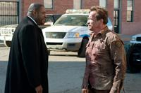 THE LAST STAND, from left: Forest Whitaker, Arnold Schwarzenegger, 2013. ph: Merrick Morton/©Lionsgate