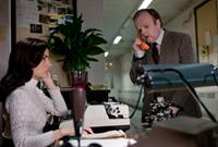 BERBERIAN SOUND STUDIO, from left: Tonia Sotiropoulou, Toby Jones, 2012. ©Artificial Eye
