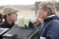 SAFE HAVEN, from left: producer Marty Bowen, director Lasse Hallstrom, on set, 2013. ph: James Bridges/©Relativity Media