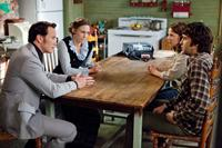 THE CONJURING, from left: Patrick Wilson, Vera Farmiga, Lili Taylor, Ron Livingston, 2013. ph: Michael Tackett/©Warner Bros. Pictures