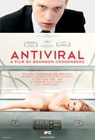 ANTIVIRAL, US poster art, Caleb Landry Jones (top), Sarah Gadon (bottom), 2012./©IFC Midnight