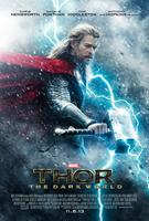 THOR: THE DARK WORLD, international poster art, Chris Hemsworth as Thor, 2013. ©Walt Disney Studios