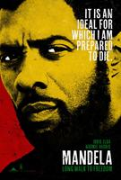 MANDELA: LONG WALK TO FREEDOM, US advance poster art, Idris Elba, as Nelson Mandela, 2013. ©Weinstein Company