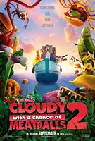CLOUDY WITH A CHANCE OF MEATBALLS 2, US advance poster art, 2013. ©Columbia Pictures