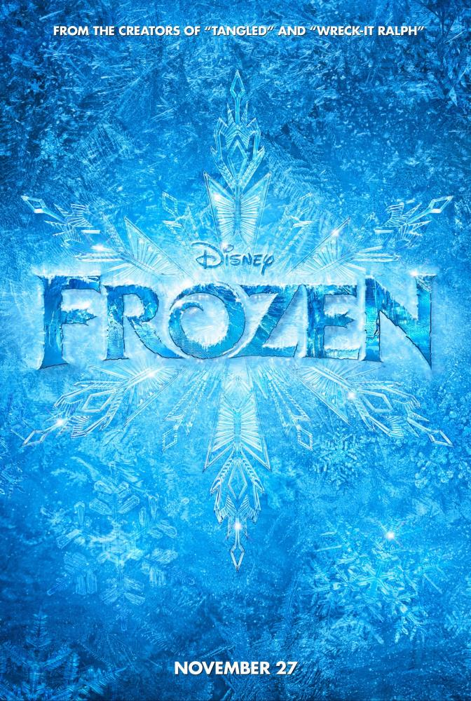 FROZEN, US advance poster, 2013, ©Walt Disney Pictures