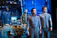 PACIFIC RIM, from left: Idris Elba, Max Martini, Clifton Collins Jr., Robert Kazinsky, 2013. ph: Kerry Hayes/©Warner Bros.