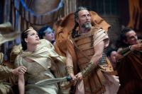 "(L-r) ALEXA DAVALOS as Andromeda and MADS MIKKELSEN as Draco in Warner Bros. Pictures' and Legendary Pictures' ""Clash of the Titans,"" distributed by Warner Bros. Pictures."