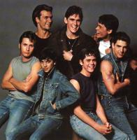 OUTSIDERS, THE, Emilio Estevez, Patrick Swayze, Ralph Macchio, Matt Dillon, C. Thomas Howell, Rob Lowe, Tom Cruise, 1983