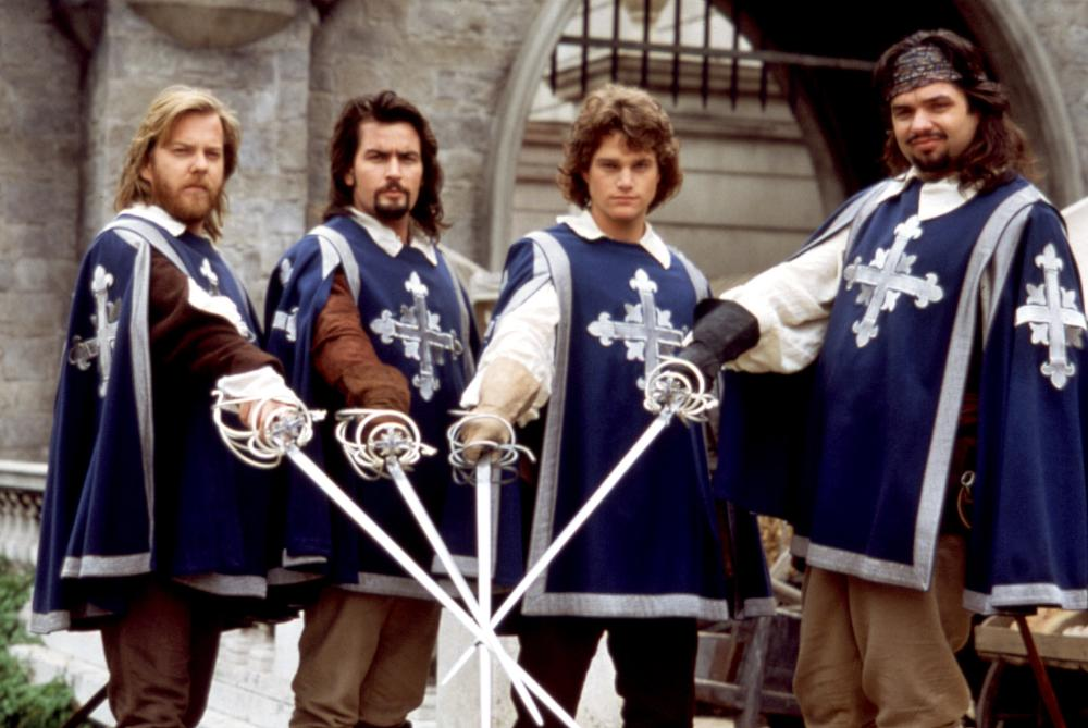 Oliver Platt Musketeers THE THREE MUSKETEERS  Kiefer