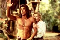 GEORGE OF THE JUNGLE, Brendan Fraser, Leslie Mann, 1997. (c) Buena Vista Pictures.