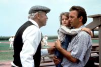 FIELD OF DREAMS, Burt Lancaster, Gaby Hoffman, Kevin Costner, 1989