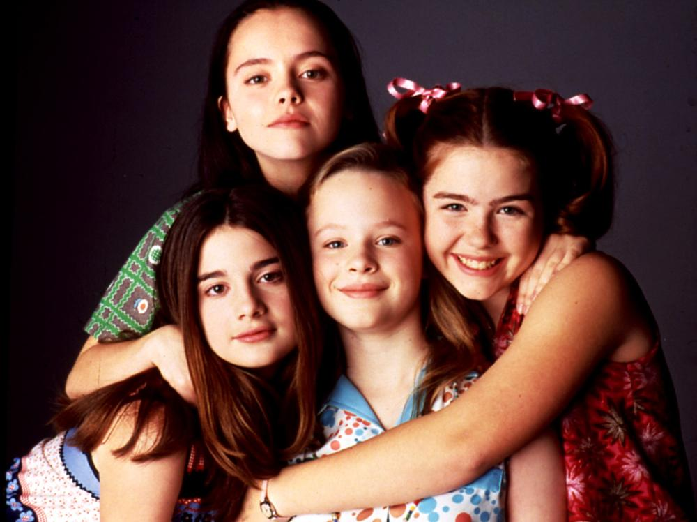 NOW AND THEN, Gaby Hoffman, Christina Ricci, Thora Birch, Ashleigh Aston Moore, 1995